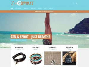Zen & Spirit E-commerce Site